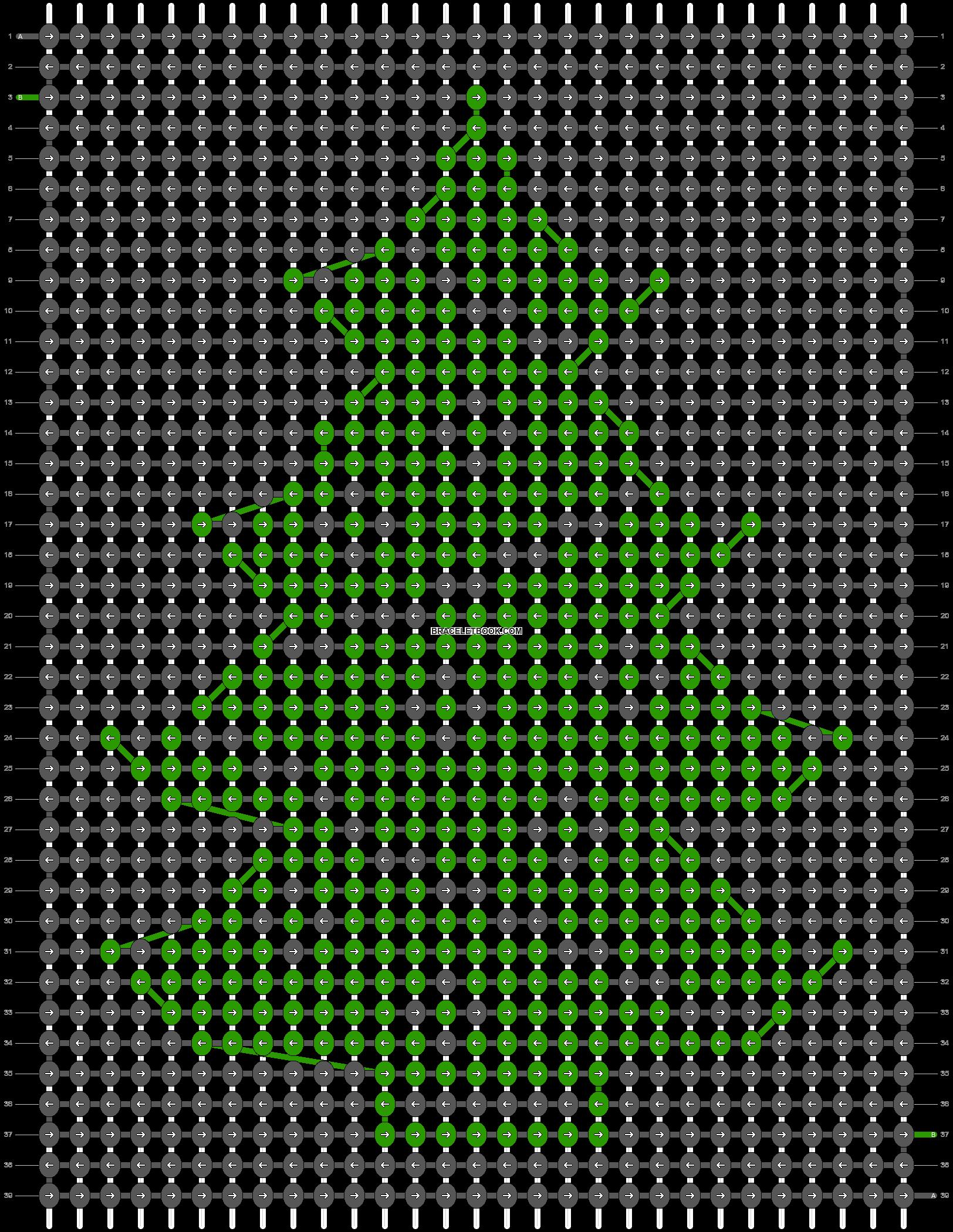 Alpha pattern #12050 pattern