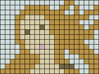 Alpha Friendship Bracelet Pattern #12055