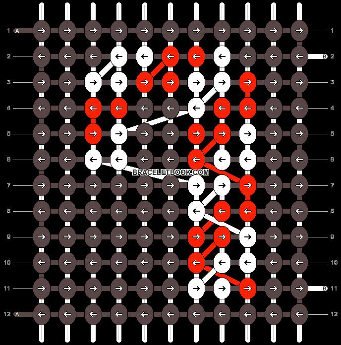 Alpha pattern #12059 pattern