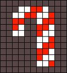 Alpha Friendship Bracelet Pattern #12059