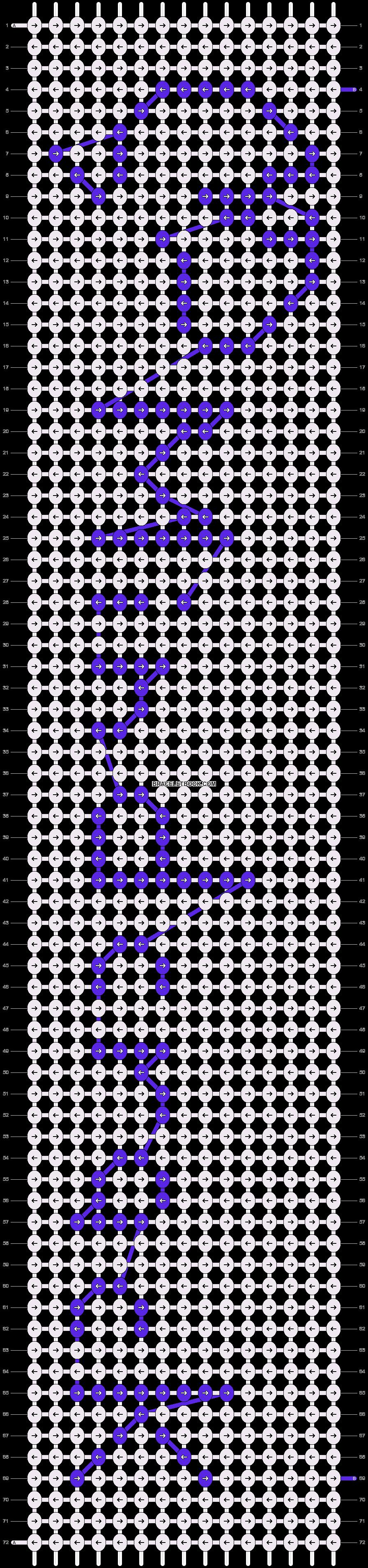 Alpha pattern #12061 pattern