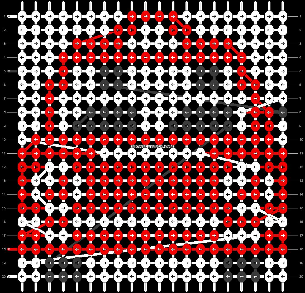 Alpha pattern #12064 pattern