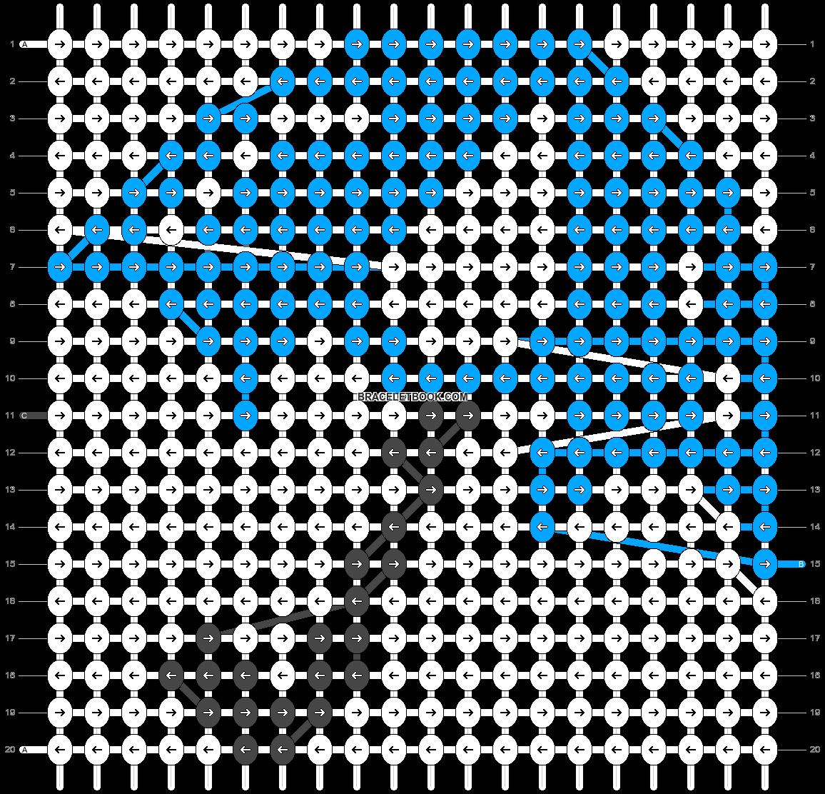Alpha pattern #12065 pattern