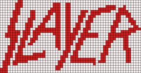 Alpha Friendship Bracelet Pattern #12068