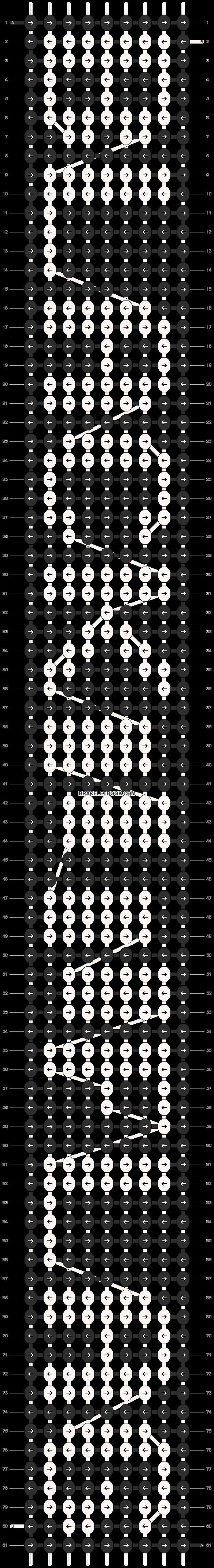 Alpha pattern #12075 pattern