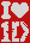 Alpha pattern #12077