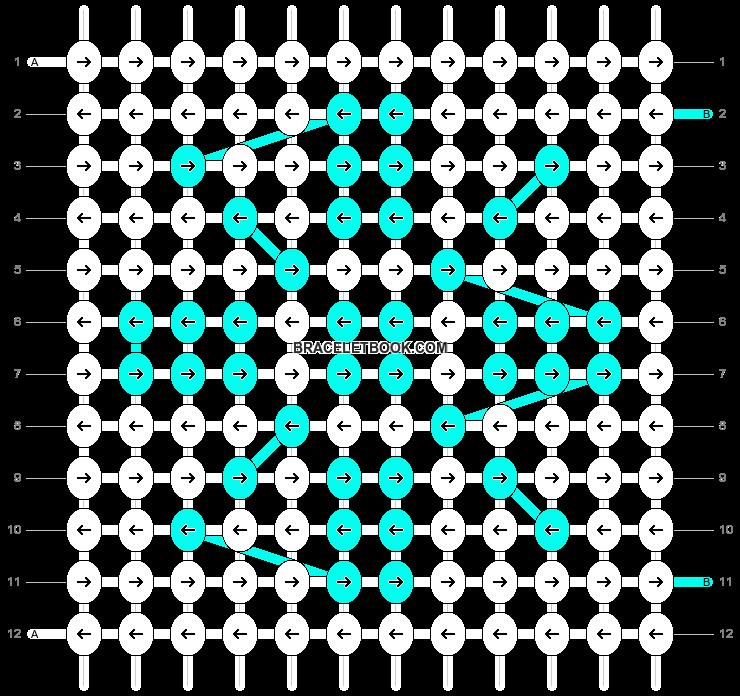 Alpha pattern #12083 pattern