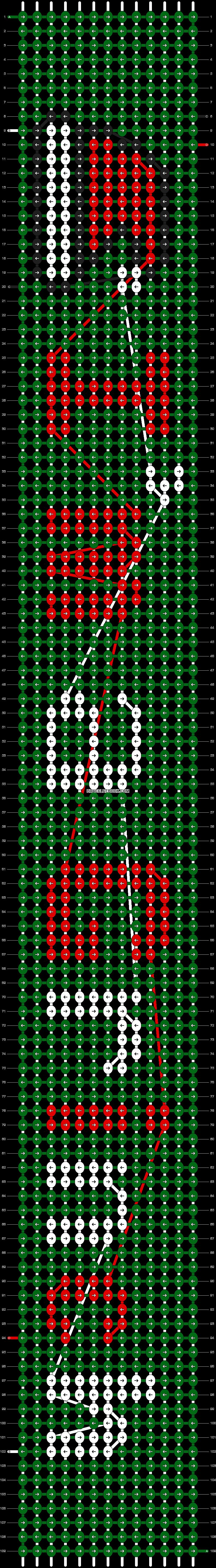 Alpha pattern #12087 pattern