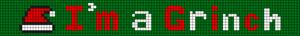 Alpha Friendship Bracelet Pattern #12087