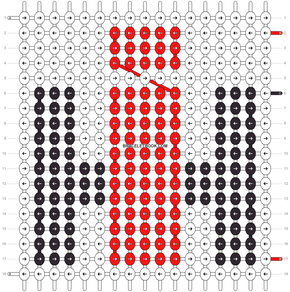 Alpha pattern #12093 pattern