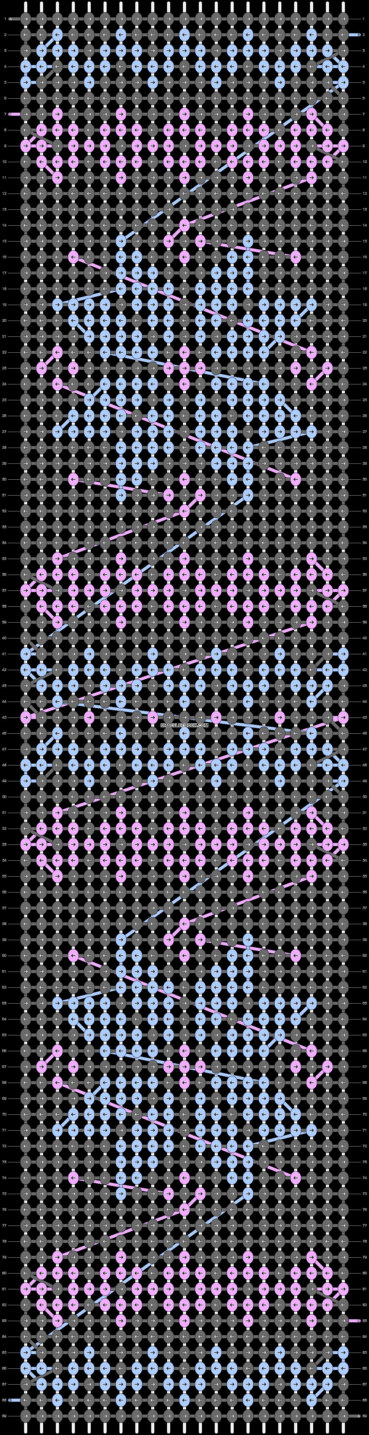 Alpha pattern #12099 pattern