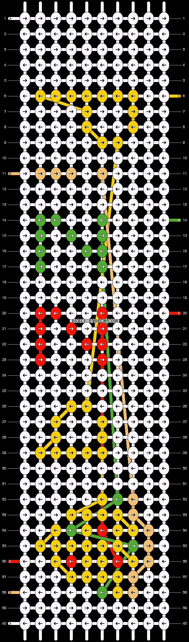 Alpha pattern #12103 pattern