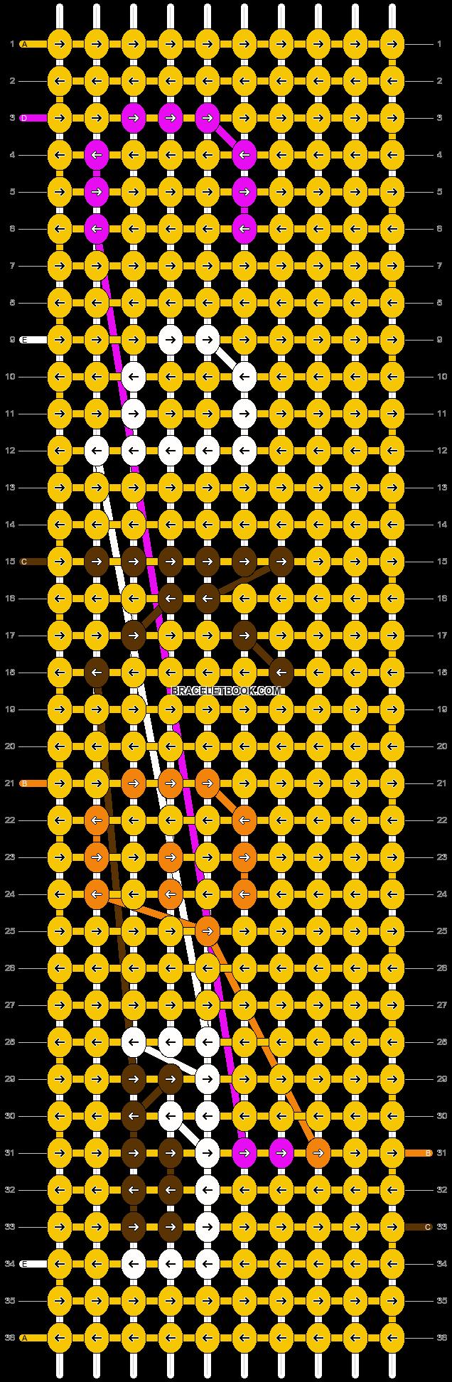 Alpha pattern #12114 pattern