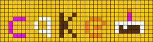 Alpha pattern #12114