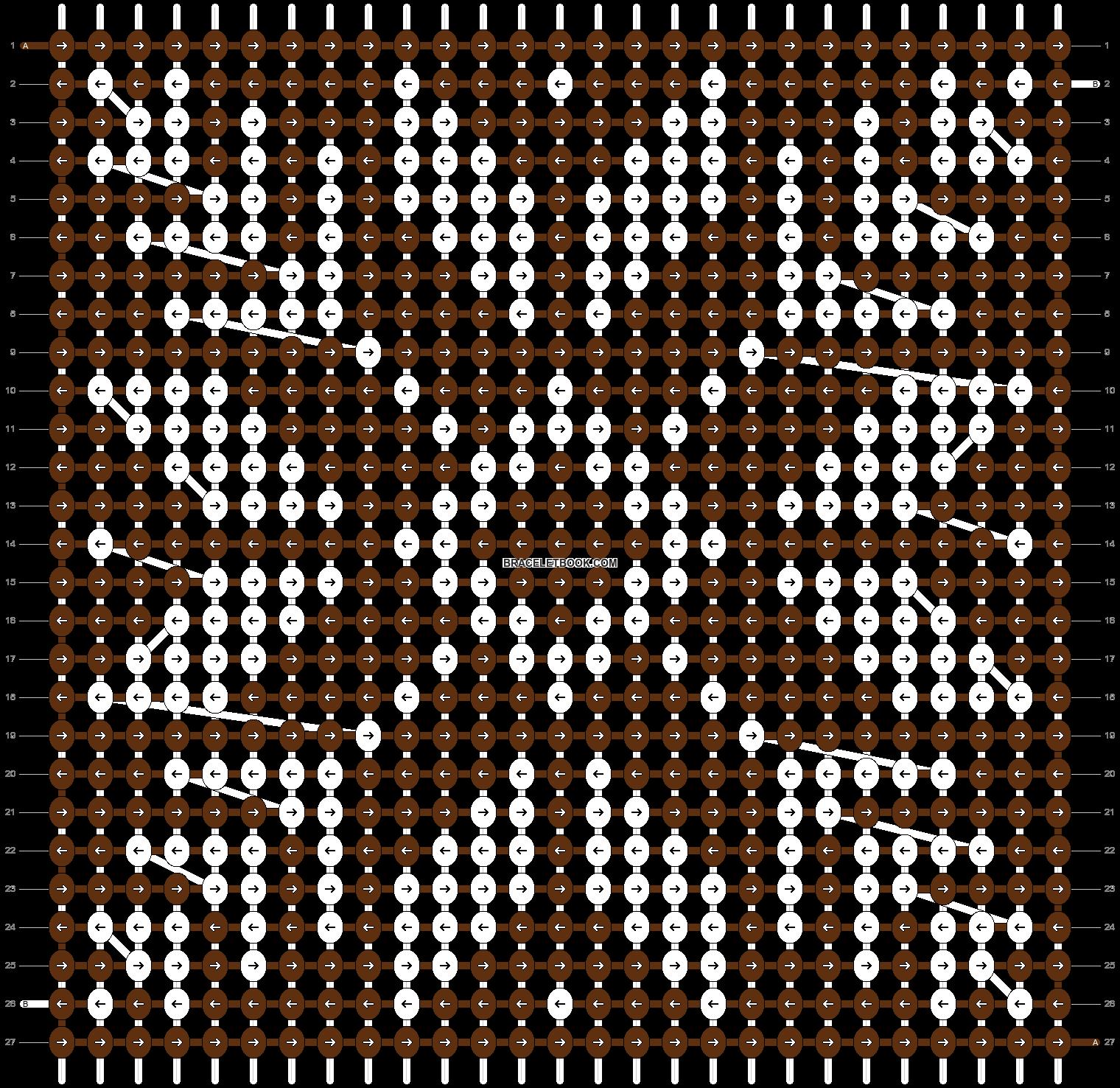 Alpha pattern #12118 pattern