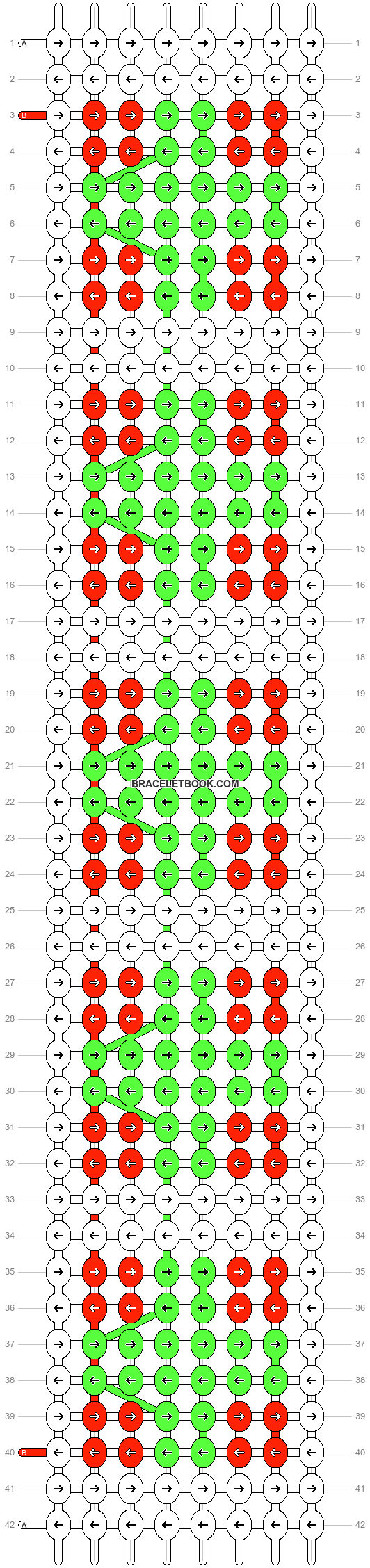Alpha pattern #12125 pattern