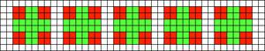 Alpha Friendship Bracelet Pattern #12125