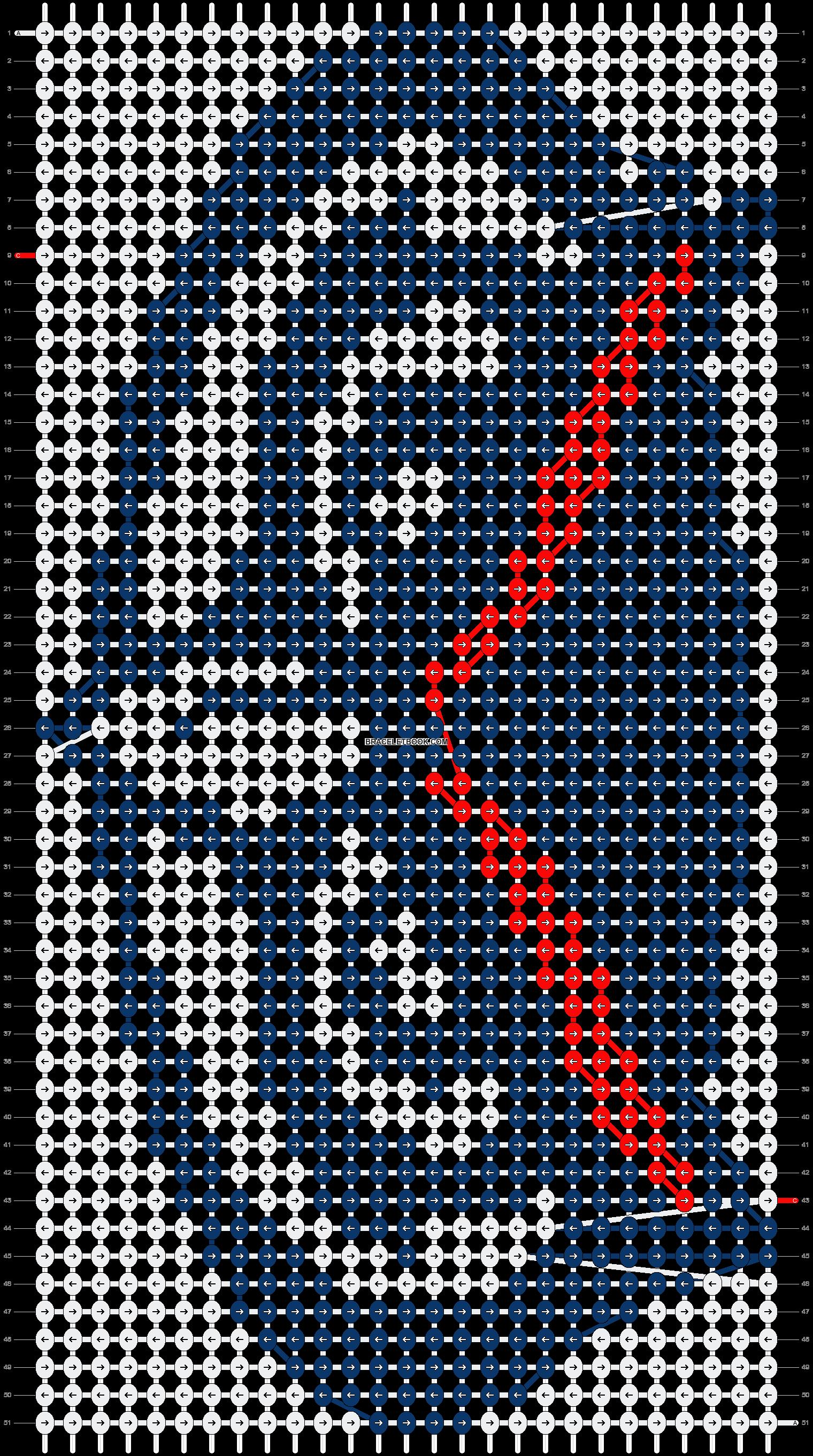 Alpha pattern #12126 pattern