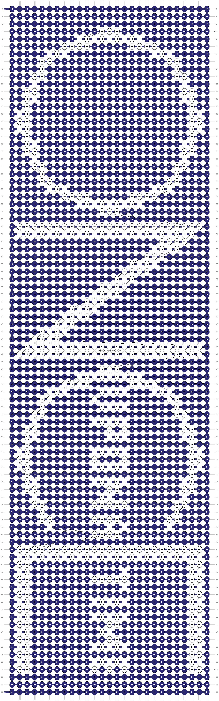 Alpha pattern #12138 pattern