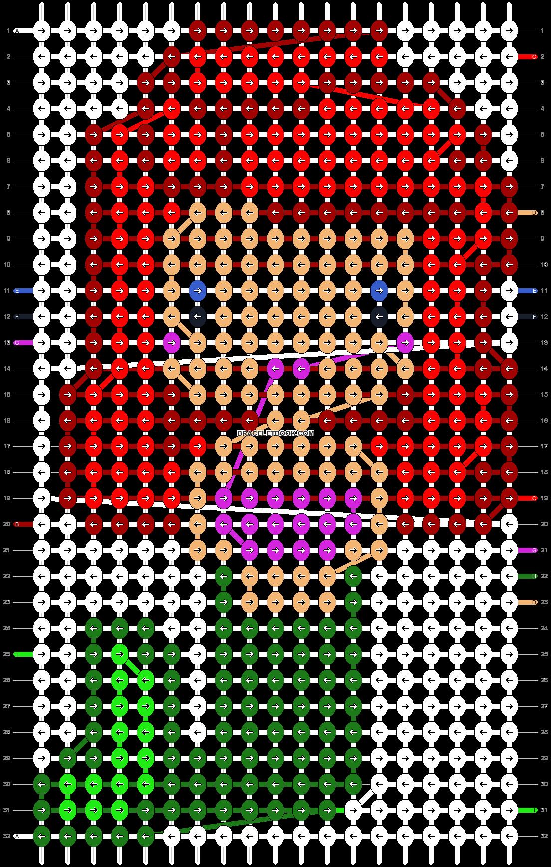 Alpha pattern #12140 pattern