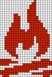 Alpha Friendship Bracelet Pattern #12143