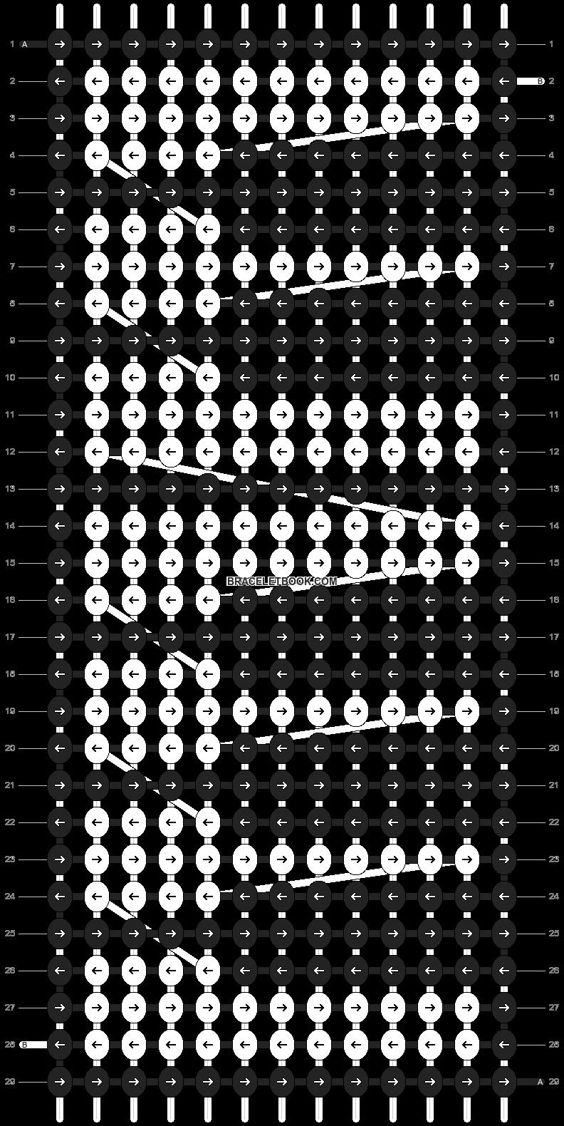 Alpha pattern #12146 pattern
