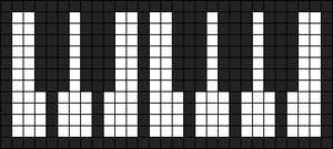 Alpha Friendship Bracelet Pattern #12146