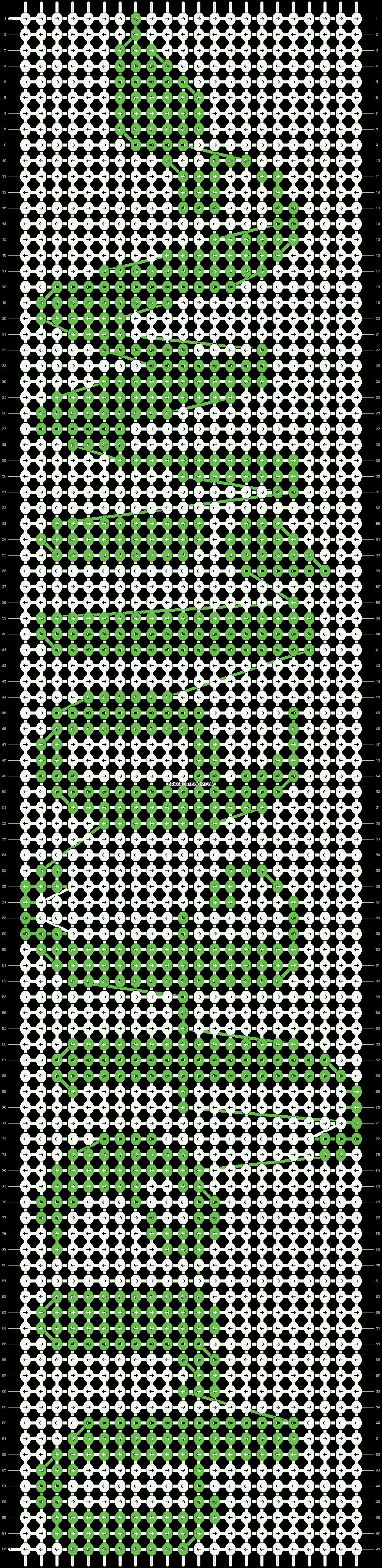 Alpha pattern #12156 pattern