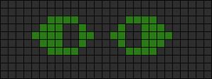 Alpha Friendship Bracelet Pattern #12161