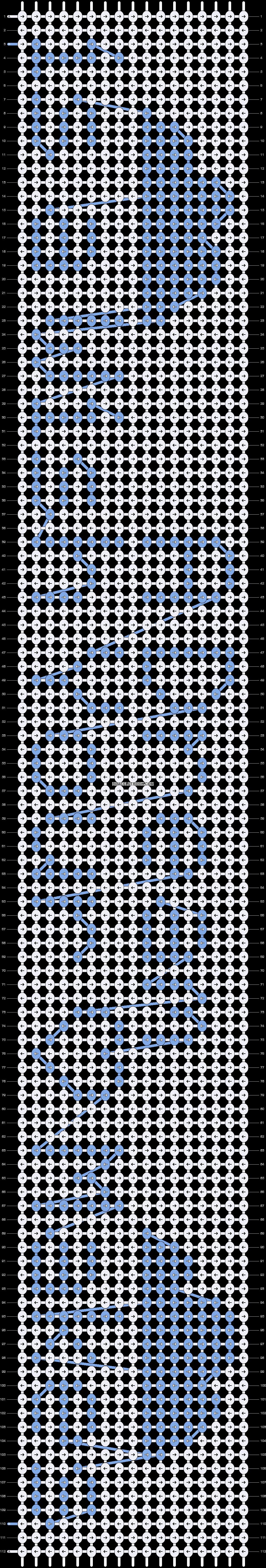 Alpha pattern #12162 pattern
