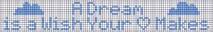 Alpha Friendship Bracelet Pattern #12162