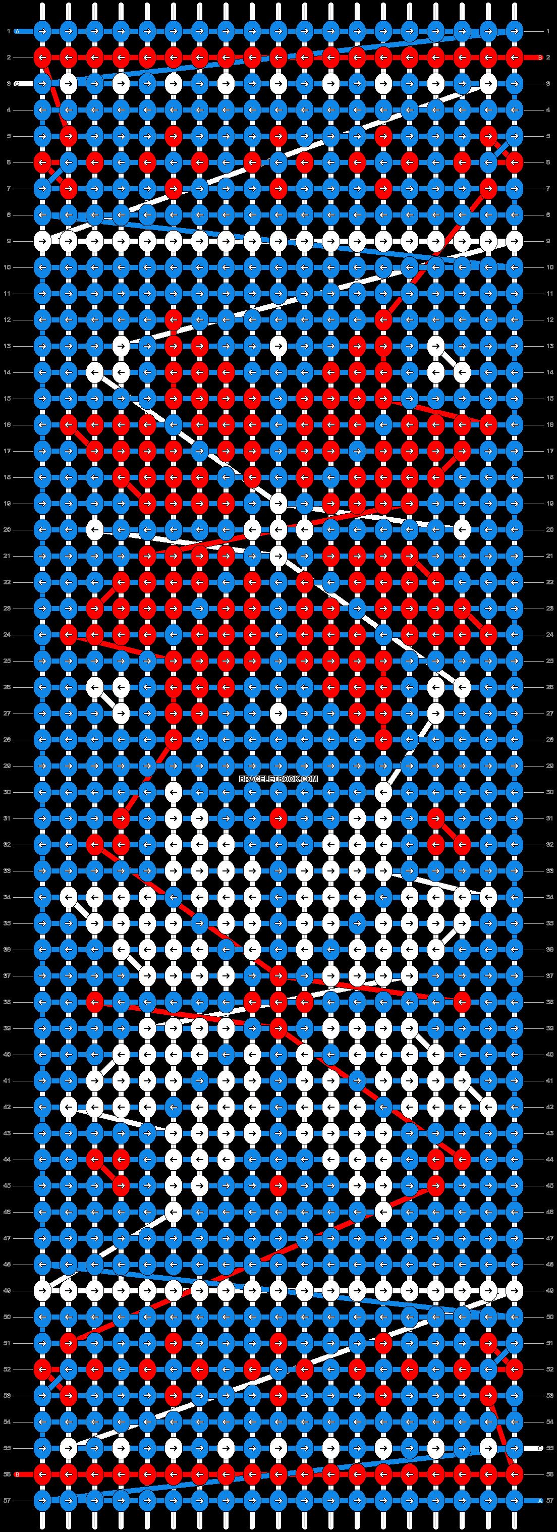 Alpha pattern #12164 pattern