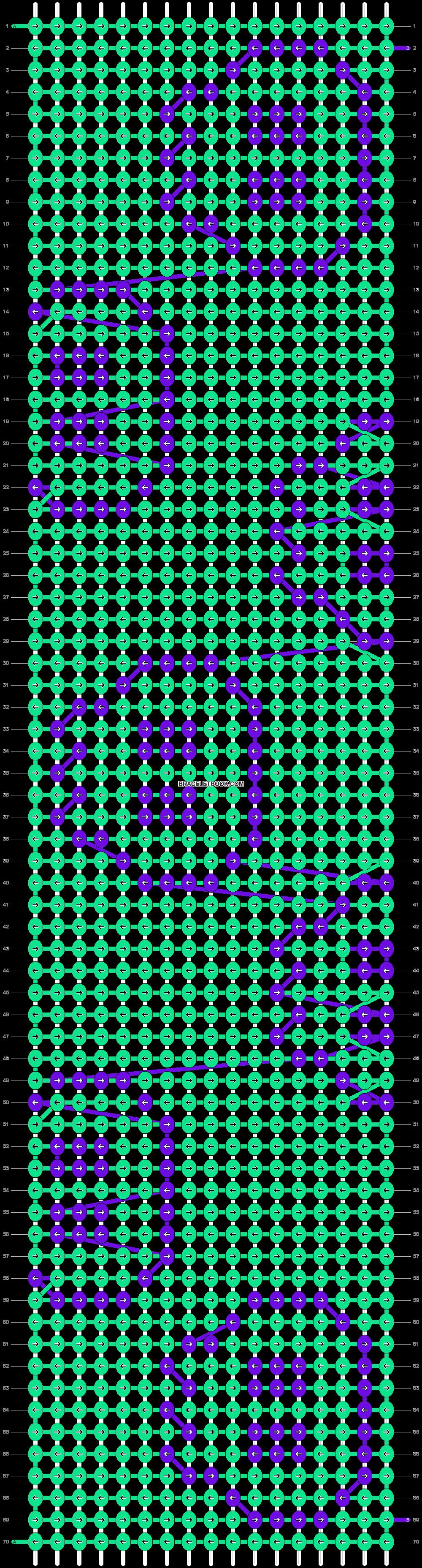 Alpha pattern #12165 pattern