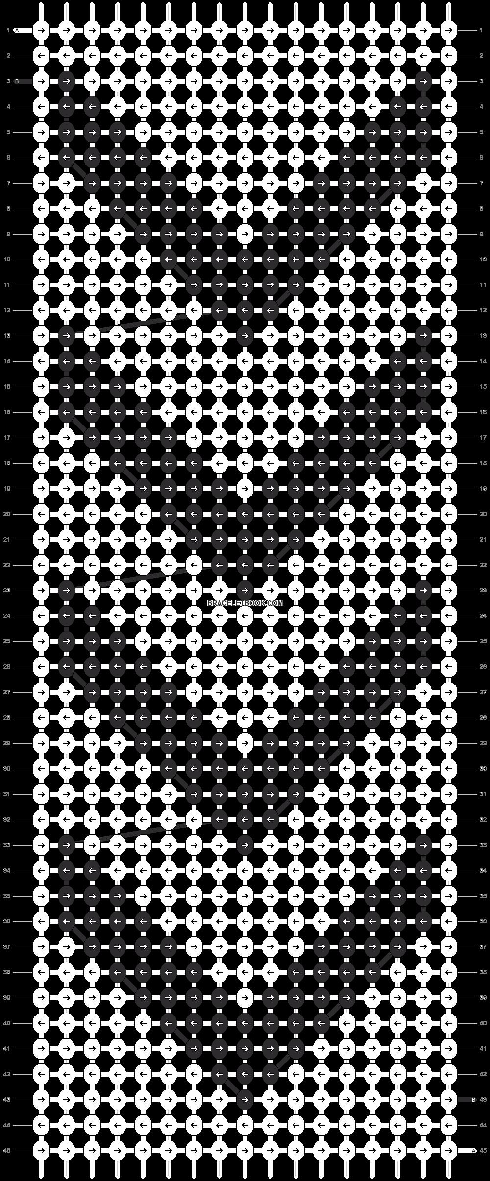 Alpha pattern #12166 pattern