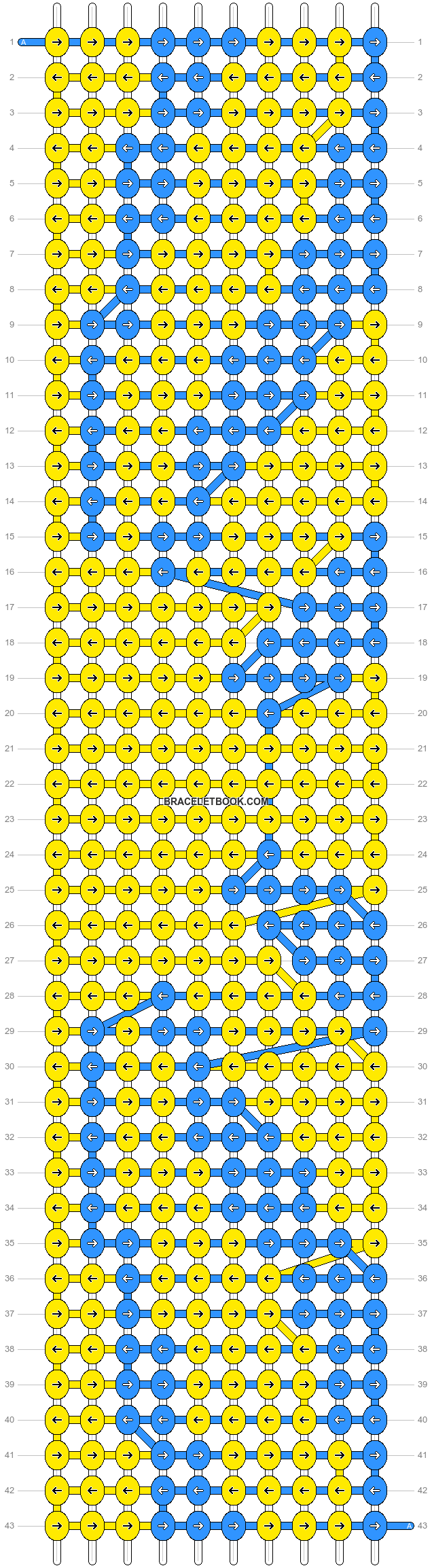 Alpha pattern #12169 pattern