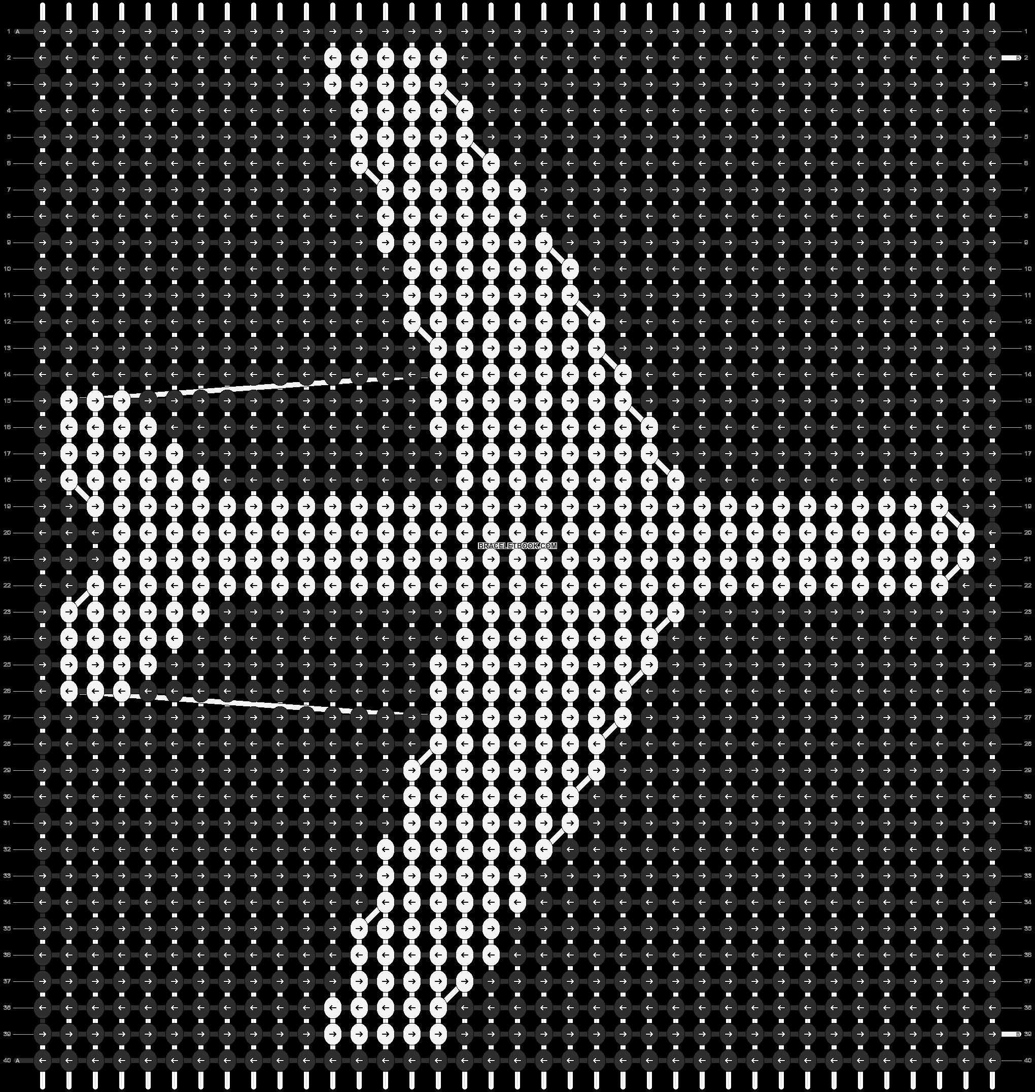 Alpha pattern #12170 pattern