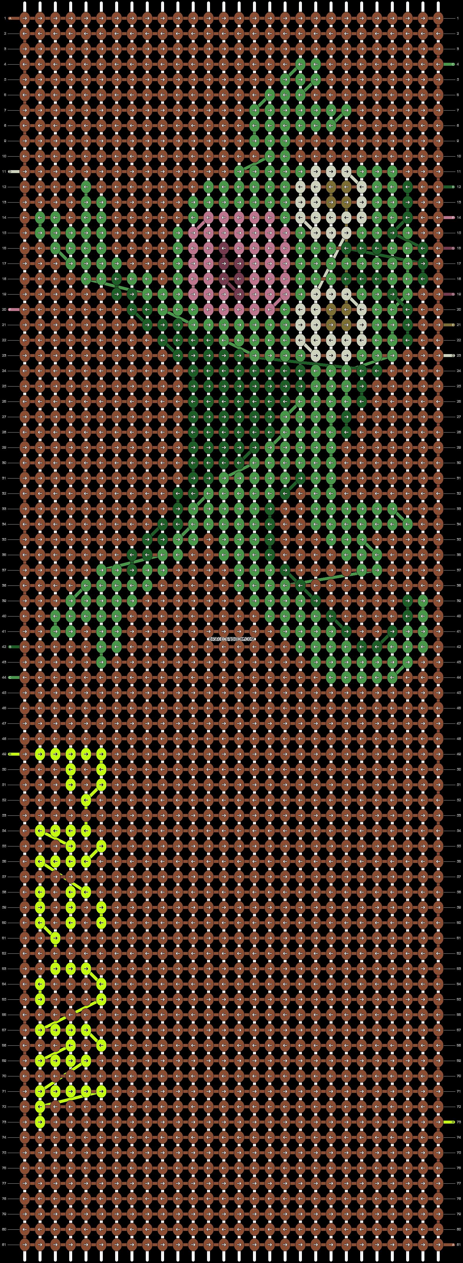 Alpha pattern #12175 pattern