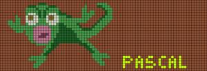 Alpha Friendship Bracelet Pattern #12175