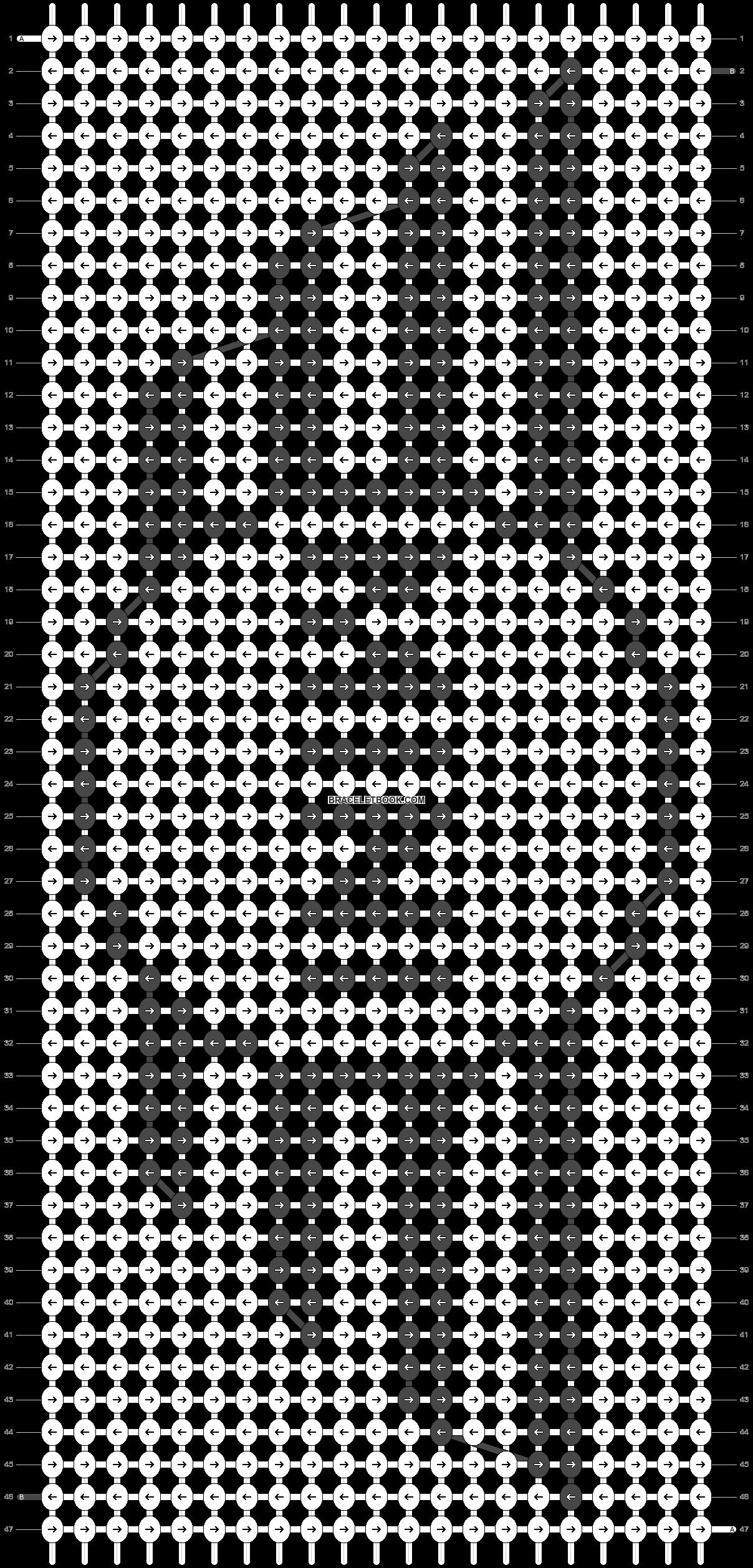 Alpha pattern #12176 pattern