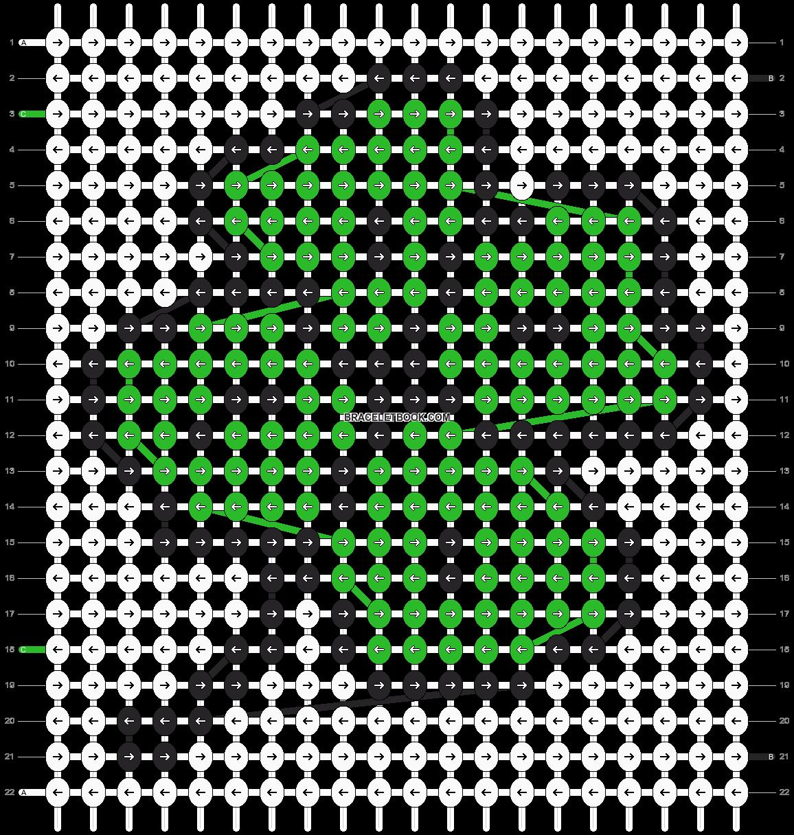 Alpha pattern #12177 pattern