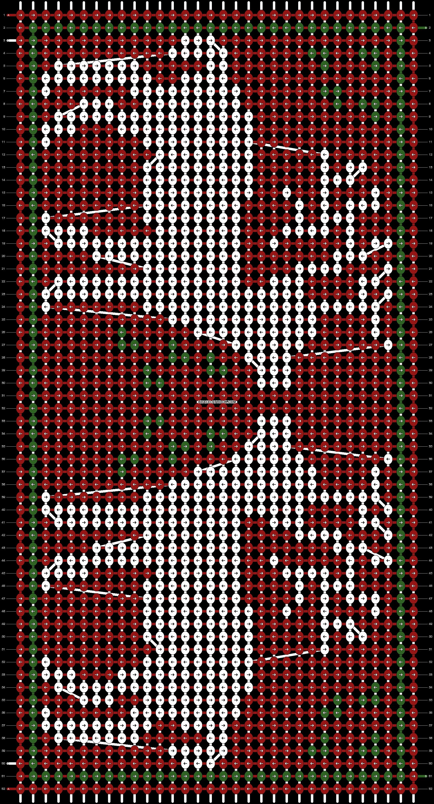 Alpha pattern #12181 pattern