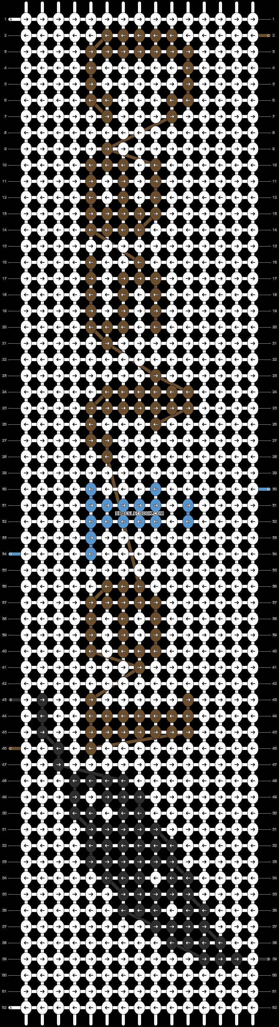 Alpha pattern #12190 pattern
