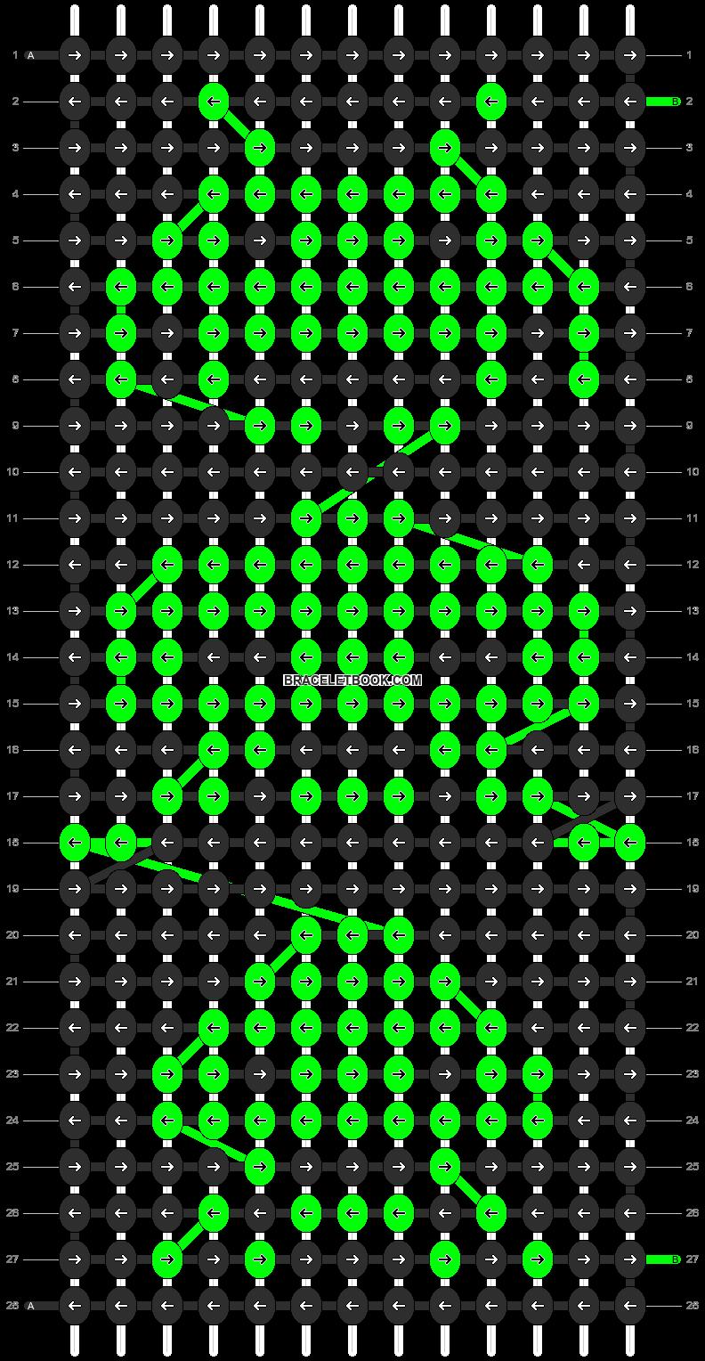 Alpha pattern #12191 pattern