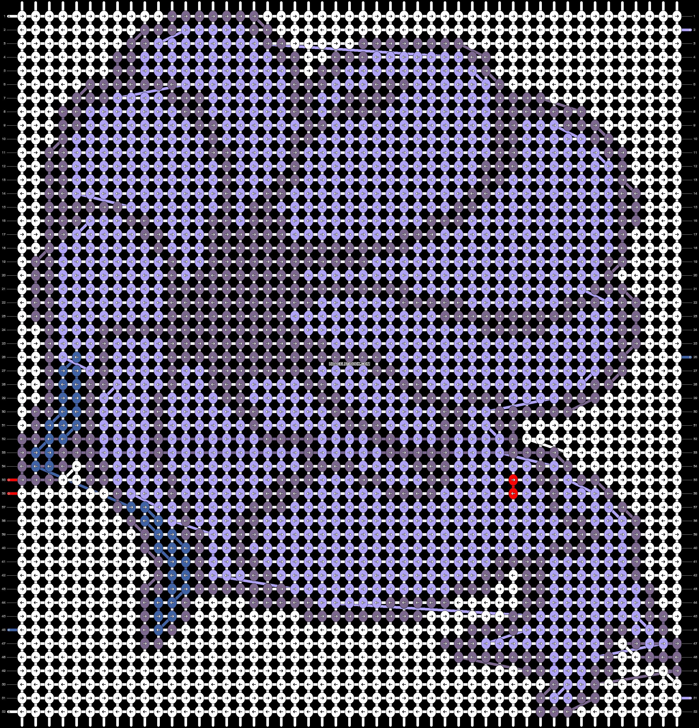 Alpha pattern #12192 pattern