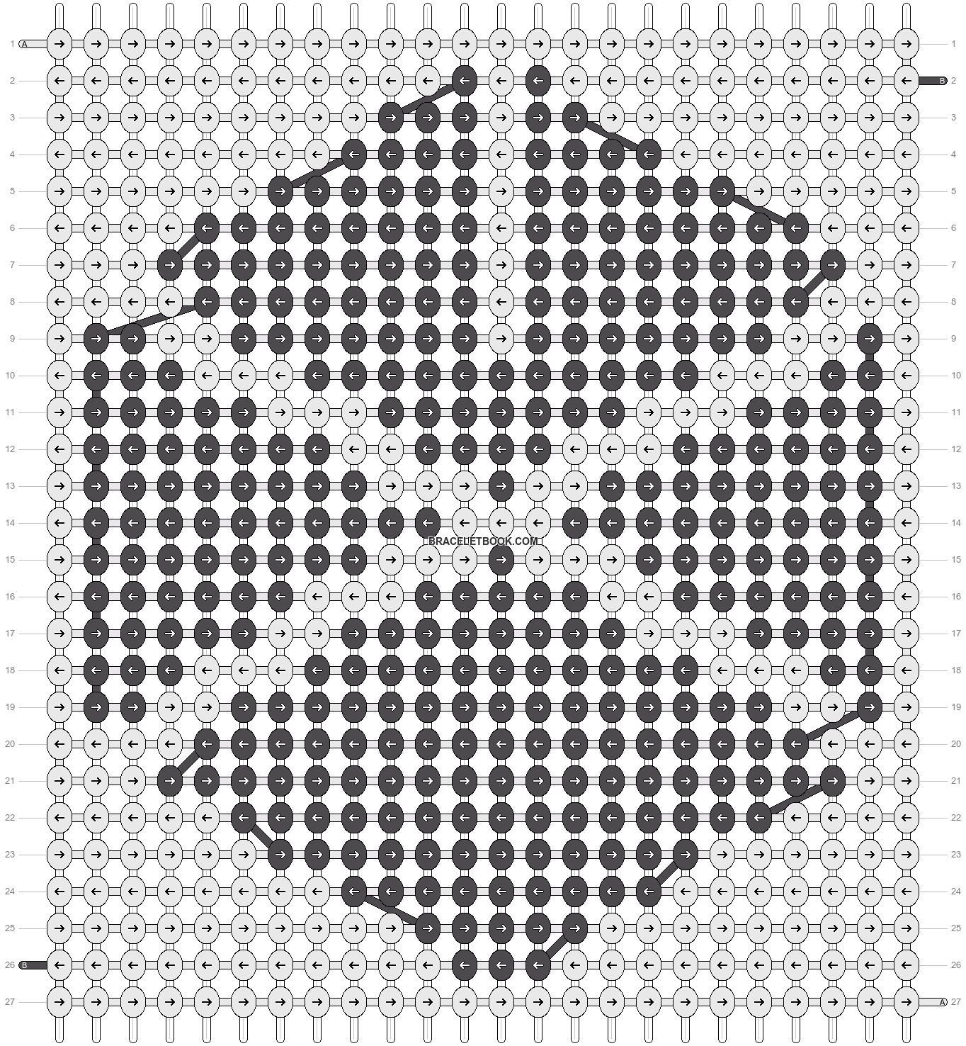 Alpha pattern #12198 pattern
