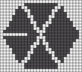 Alpha pattern #12198