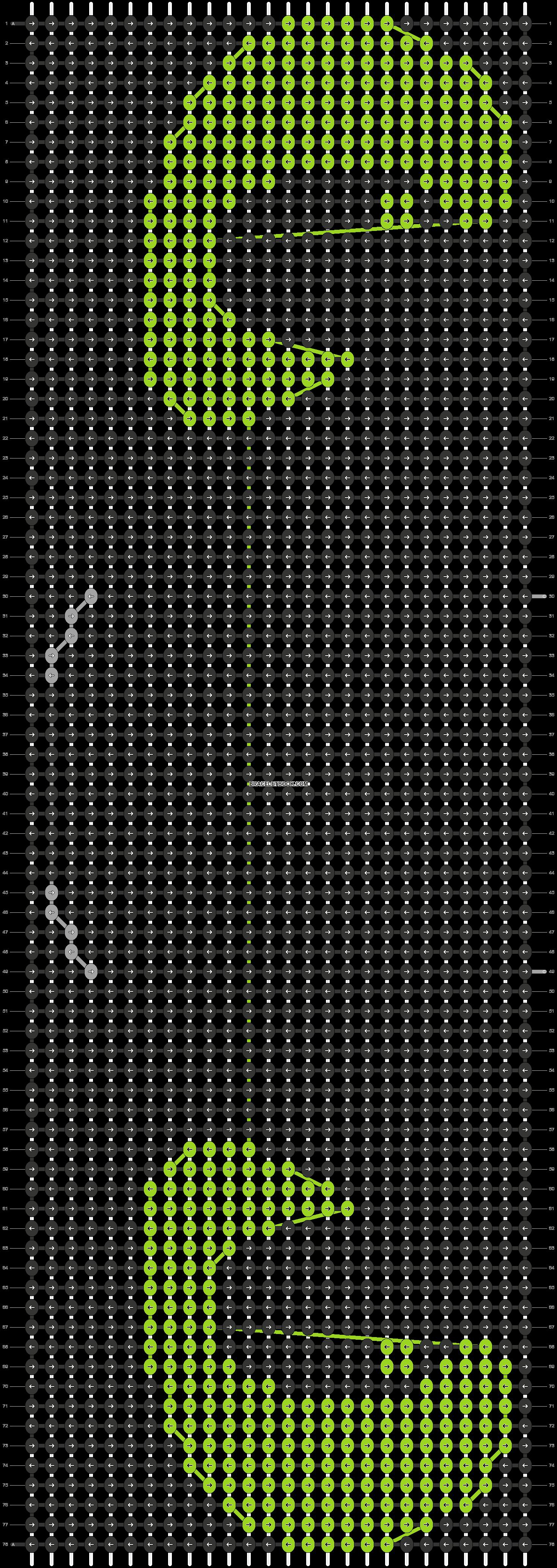 Alpha pattern #12200 pattern
