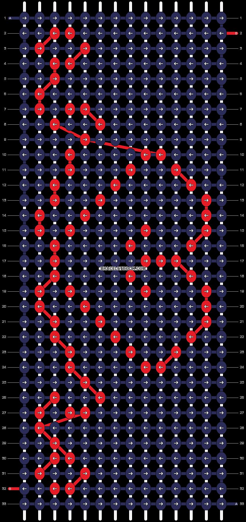 Alpha pattern #12201 pattern