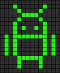 Alpha pattern #12203