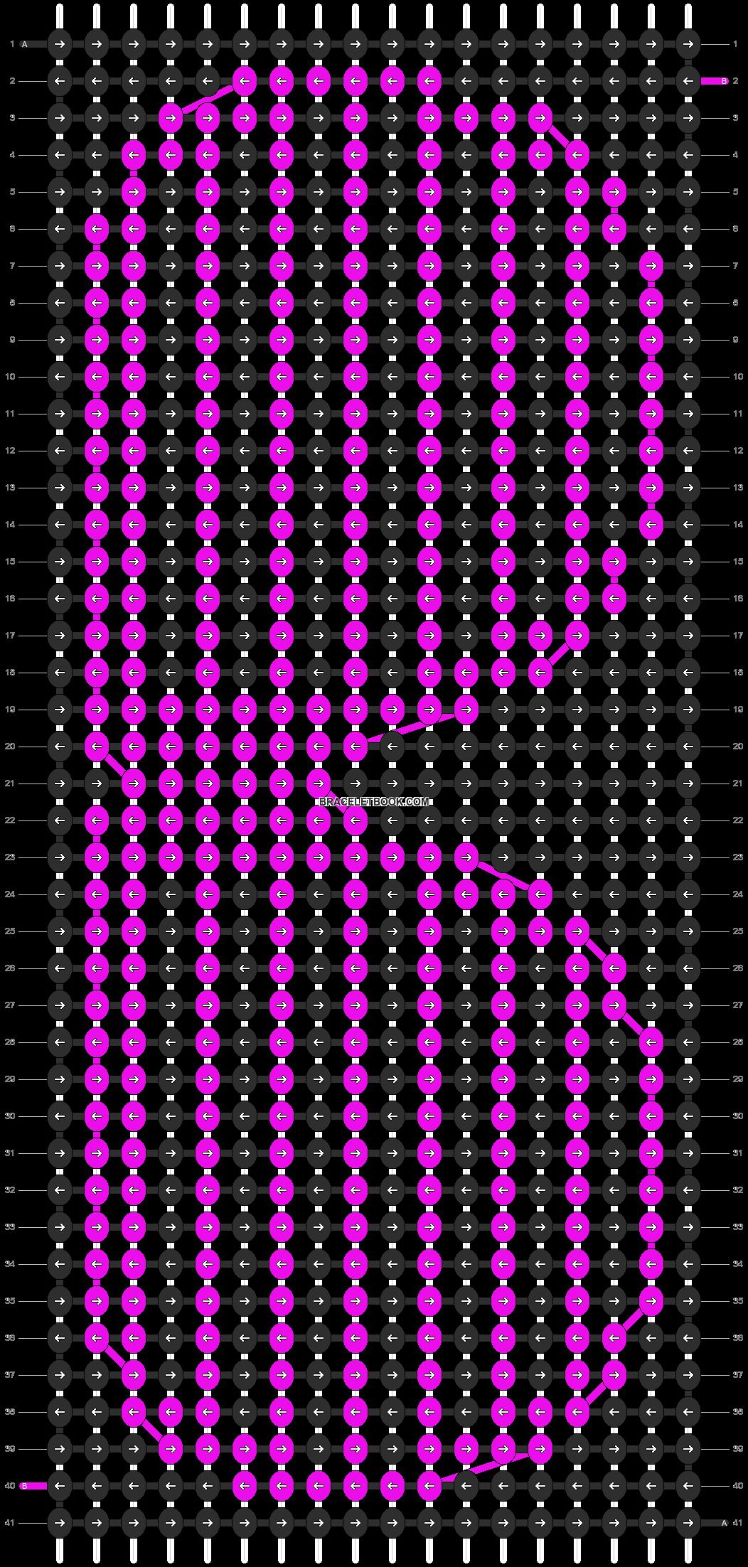 Alpha pattern #12209 pattern